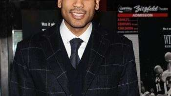 Allan Houston attends the premiere of 'Winning Time: