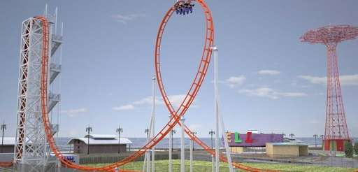 "A new major roller coaster, ""Thunderbolt,quot; will be"
