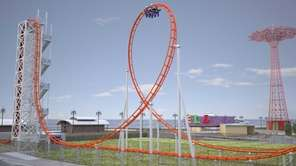"A new major roller coaster, ?Thunderbolt,"" will be"