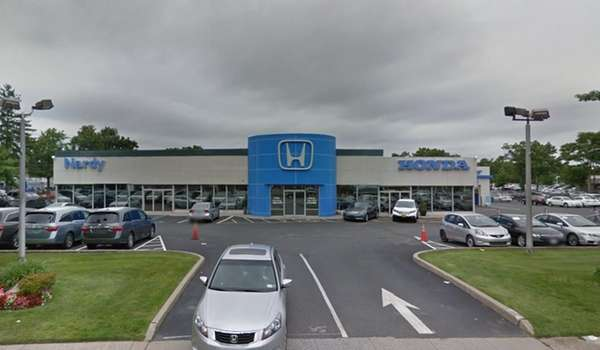 The Nardy Honda showroom at 559 Rte. 25