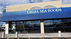 Outside of Legal Sea Foods at the Walt