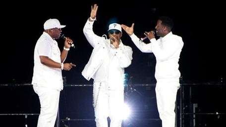 Boyz II Men performs at Phillips Arena on