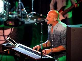 Michael DelGuidice (pictured) and his band Big Shot