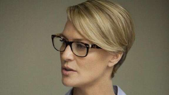 Will first lady Claire Underwood (Robin Wright) help