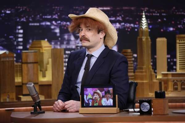 Host Jimmy Fallon on March 5, 2014, during