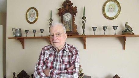 Richard Gatto, 90, swears by a regimen of