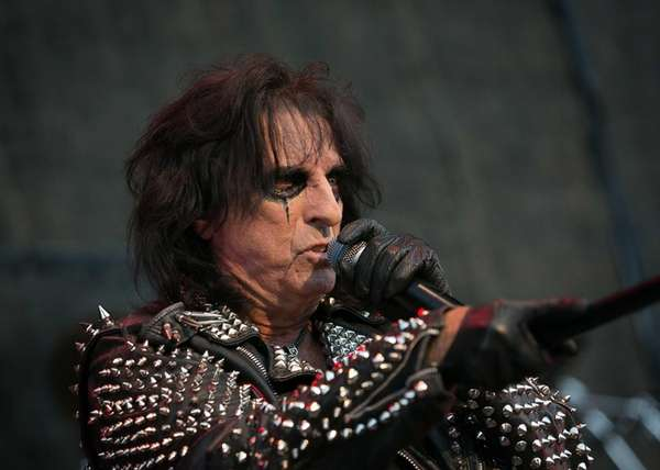 Alice Cooper performs on June 27, 2012 at