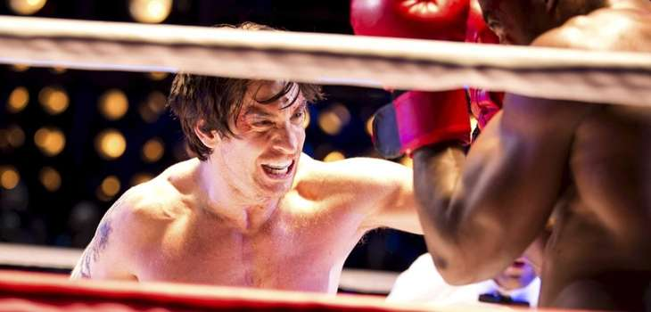 "Andy Karl in a scene from the ""Rocky"""