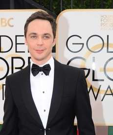 Actor Jim Parsons arrives on the red carpet