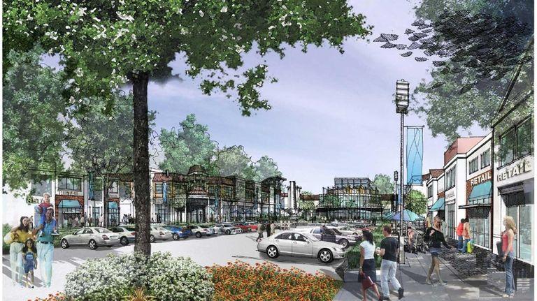 An artist rendering of the Serota Pines development