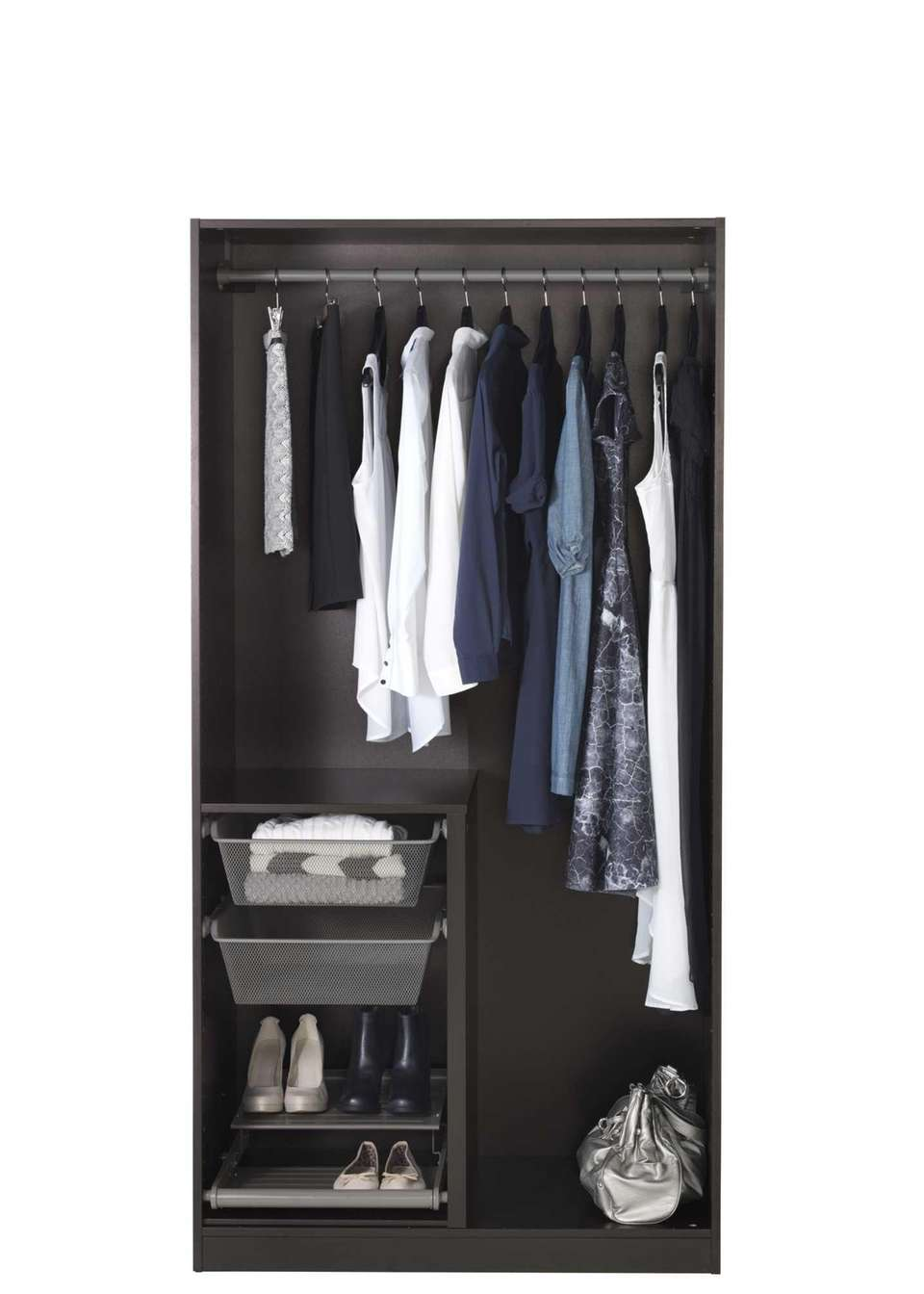 The Pax Wardrobe is a customizable wardrobe that