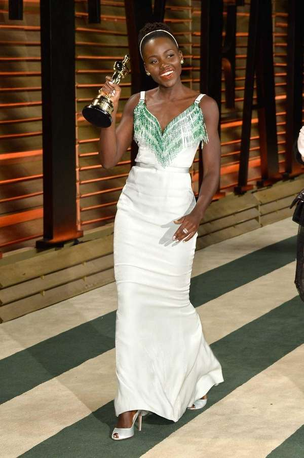 Actress Lupita Nyong'o attends the 2014 Vanity Fair