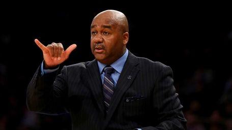 NEW YORK, NY - MARCH 12: Head coach