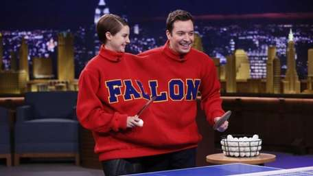 Host Jimmy Fallon and