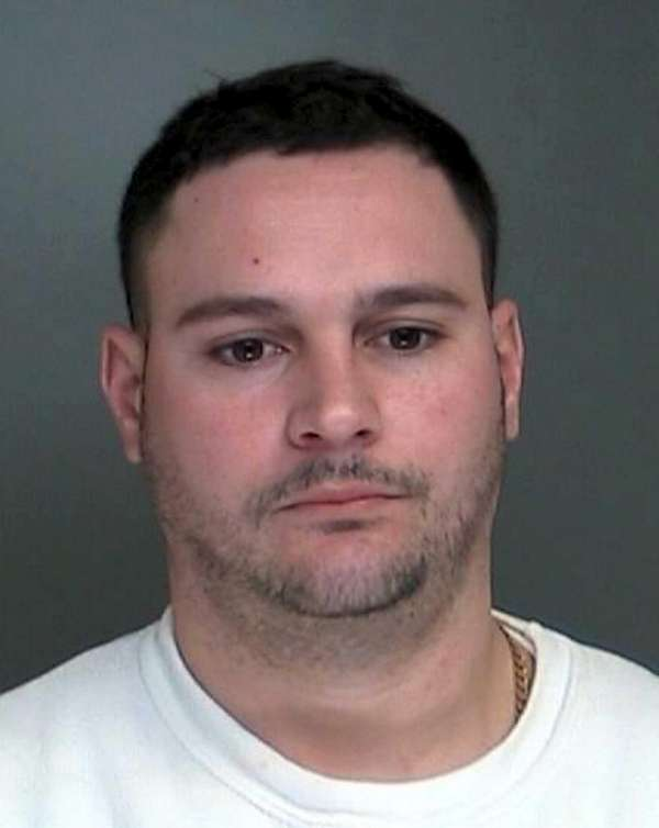 Brian Colantropo, 34, of Wading River, was arrested