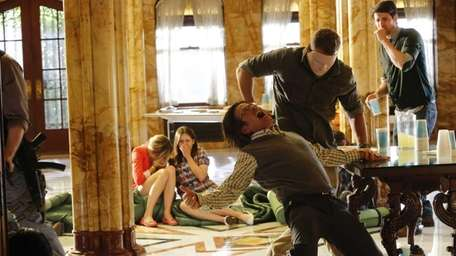 Dermot Mulroney as Thomas Gibson in the pilot
