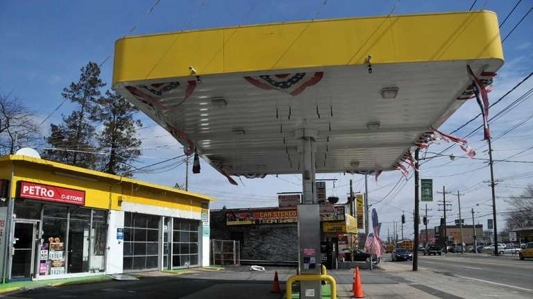 This gas station located at 1278 Hempstead Turnpike
