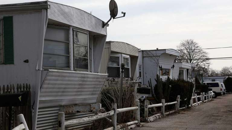 Frontier mobile home park, located at 805 Broadway