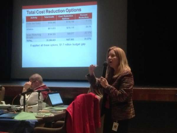 Kings Park schools Superintendent Susan Agruso shares possible