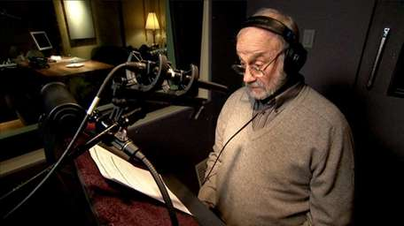 Legendary voice-over artist Hal Douglas, whose sonorous delivery