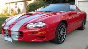 2002 Chevrolet Camaro SS 35th Anniversary coupe owned
