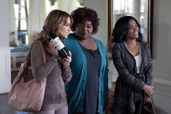 From left, Esperanza, played by Zulay Henao, Lytia,