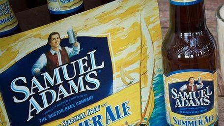 Sam Adams summer ale.