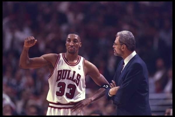 14 May 1996: Chicago Bulls head coach Phil