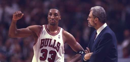 14 May 1996: Chicago Bulls head coach Phil