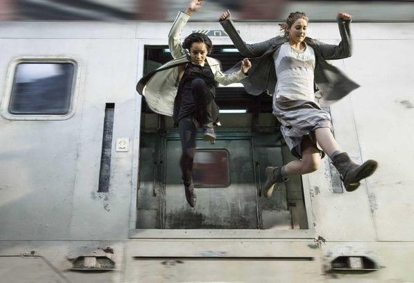 Zoe Kravitz as Christina and Shailene Woodley stars