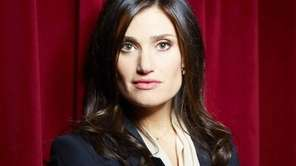 Tony Award winning actress, singer and songwriter Idina