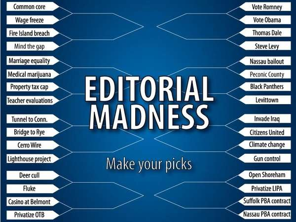 In honor of March Madness, Newsdays editorial board