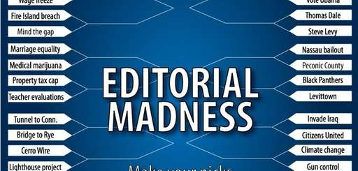 In honor of March Madness, Newsday's editorial board