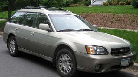 The 2004 Subaru Outback wagon.