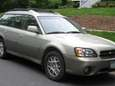 The 2004 Subaru Outback wagon.