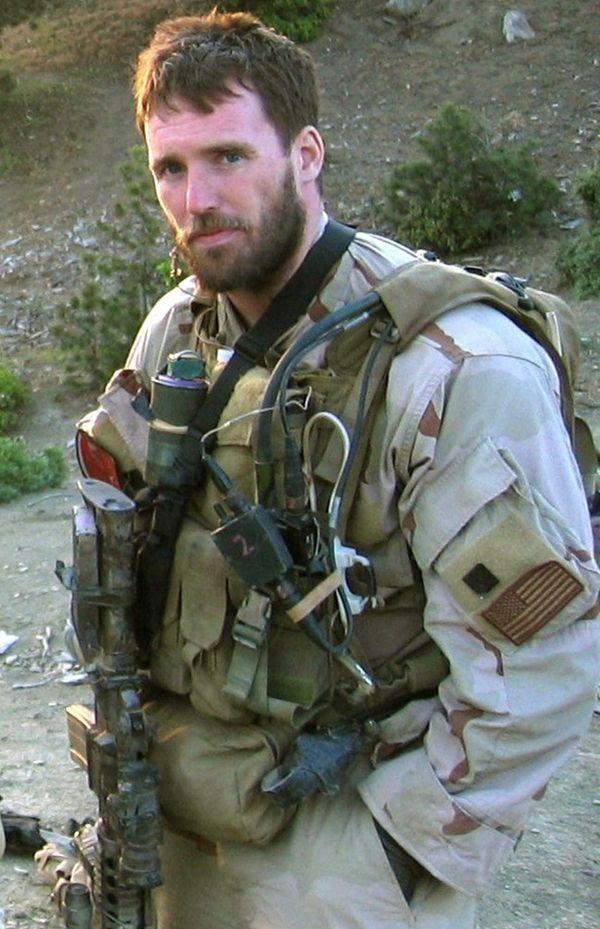 An undated photo of Navy Seal Michael Murphy