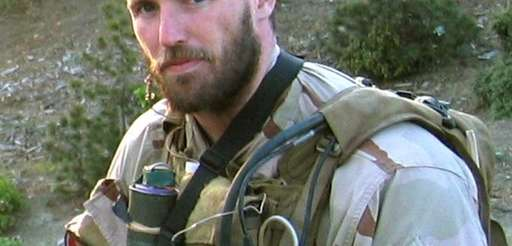 An undated photo of Navy Seal Michael Murphy