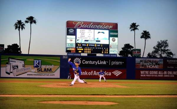 Las Vegas 51's Zack Wheeler pitches during a
