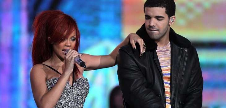 Rihanna and Drake, seen here in 2011, are
