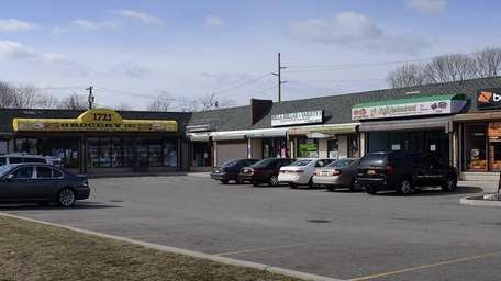 Miracle Plaza shopping center in North Bellport on