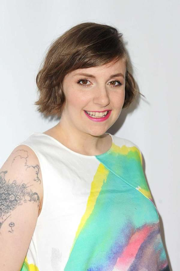 Actress and executive producer/creator Lena Dunham attends the