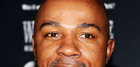 Greg Anthony attends the premiere of 'Winning Time: