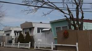 Frontier Mobile Home Park in North Amityville on