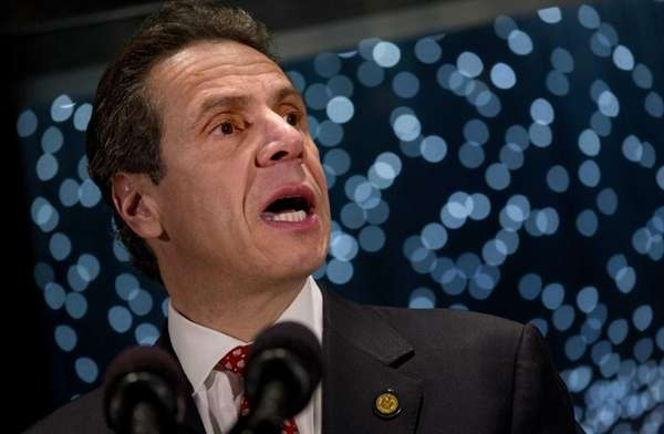 Gov. Andrew M. Cuomo on March 6, 2014,