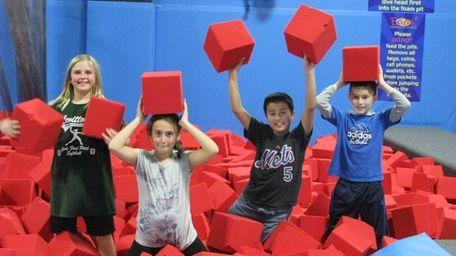 Kidsday reporters: Valentina Beno, Nicole McCrea, Anthony Fernandez