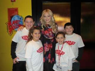 Actress Olivia Holt from Disney's Kickn It and