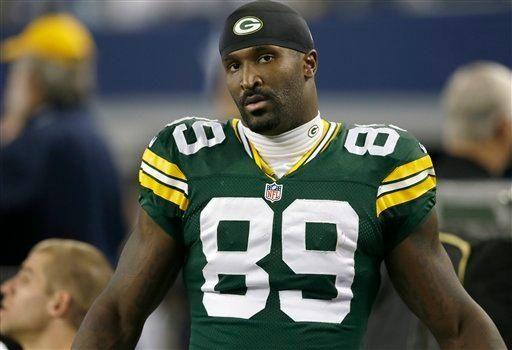 Green Bay Packers wide receiver James Jones (89)