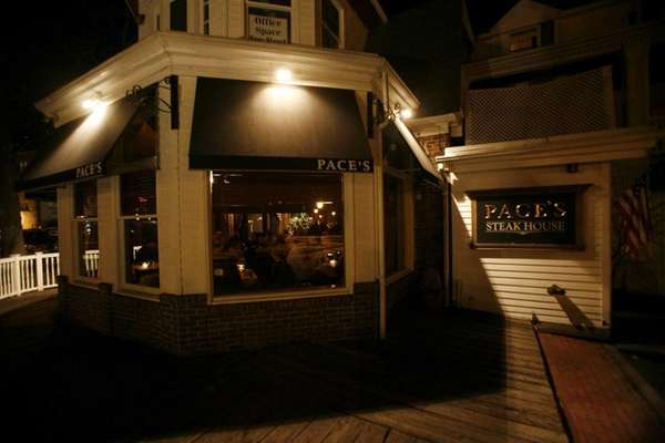 Pace's Steakhouse was in downtown Port Jefferson, Jan.