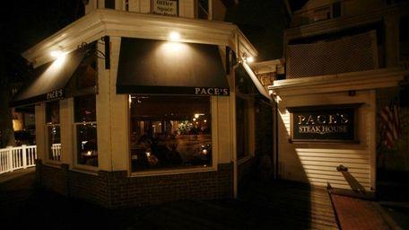 Pace's Steakhouse was in downtown Port Jefferson, Jan.