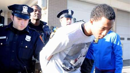 One of the three teenagers, Wayne Beavers, charged